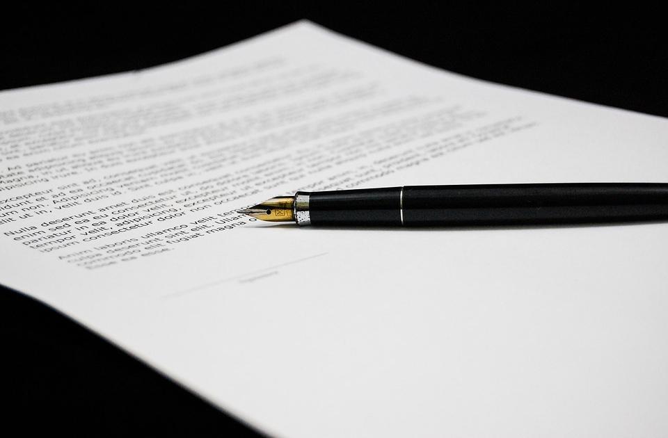 Документы ручка